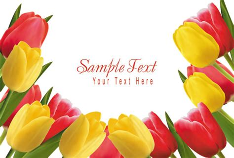Undangan Flower 04 free s day tulip vector 04 titanui