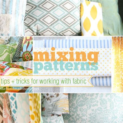 fabric pattern mixing mixing patterns fabrics and tips and tricks on pinterest
