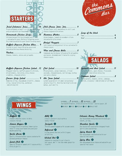 beautiful menu 35 beautiful restaurant menu designs inspirationfeed