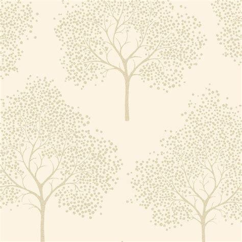 love wallpaper glitter tree wallpaper cream gold