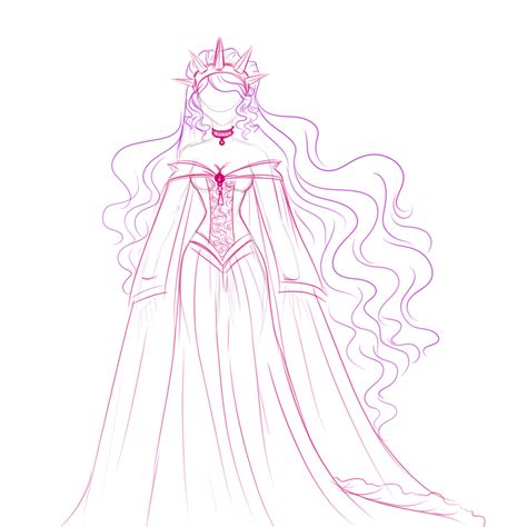 Image From Http Fc02 Deviantart Net Fs71 I 2012 289 4 E How To Draw A Disney Princess Dress Free Coloring Sheets