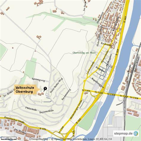 Obernburg Am Main Plz by Obernburg Am Main Von Thh 4teachers Landkarte F 252 R Die Welt