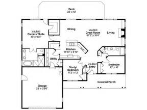 House Plans With A View To The Rear by Eplans Ranch House Plan Spacious And Economical 1884