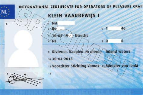 vaarbewijs examen maril hoe zit het met sloepen hard varen een vaarbewijs