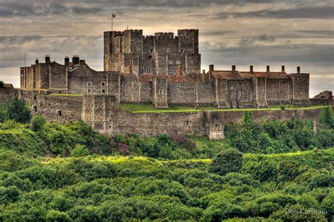 Castle Wall Stickers quot dover castle dover kent england quot by bob culshaw