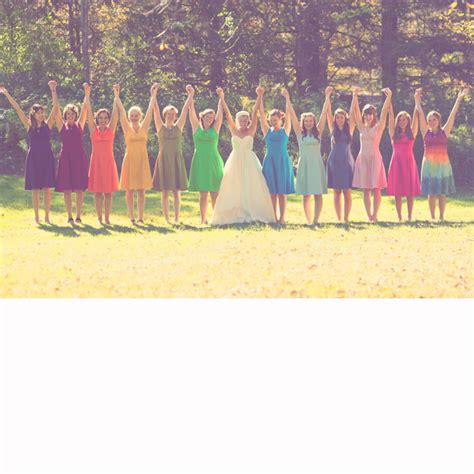 wedding styles picking your wedding color all about all things rainbow wedding style wedding ideas