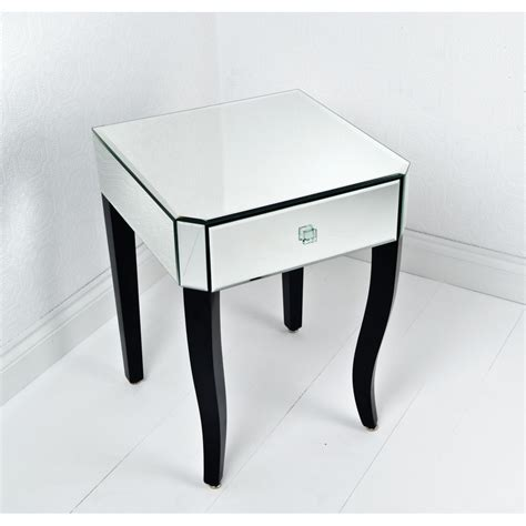 mirrored side table cheap furniture versatile bedside table cheap on modern style