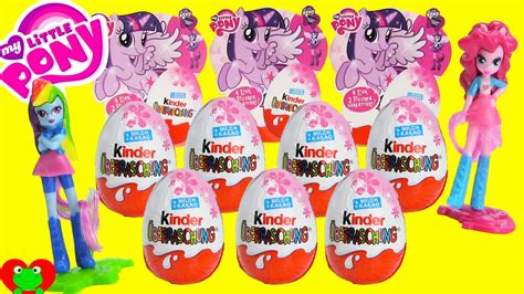 Kinder My Pony my pony kinder eggs with equestria