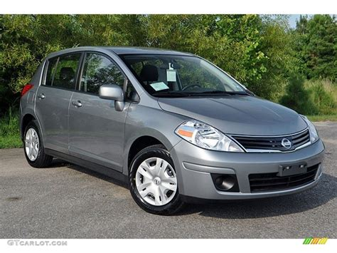 Magnetic Gray Metallic 2012 Nissan Versa 1 8 S Hatchback