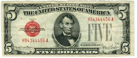 lade berger 1950 5 dollar bill why you want it and what it s worth