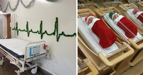christmas decorations in hospital wards 10 hospital decorations that show staff are the most creative