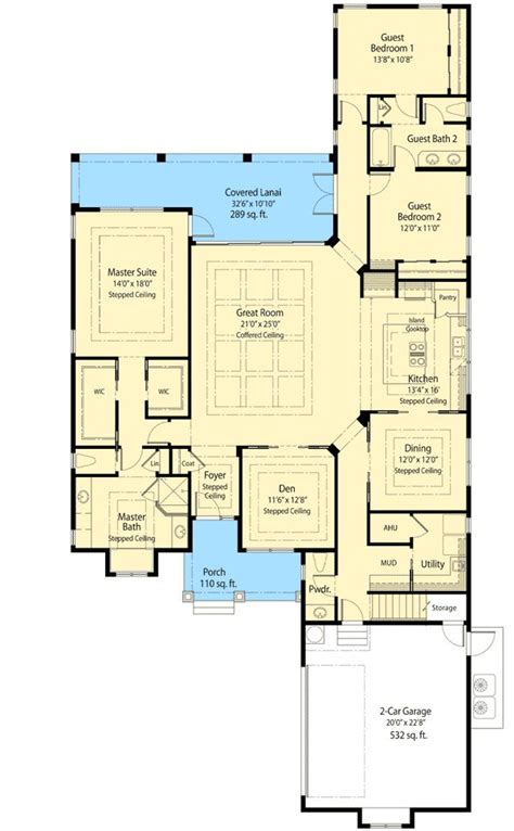 zero lot line patio home plans