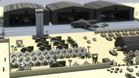 lego base tutorial military base minecraft project legos pinterest