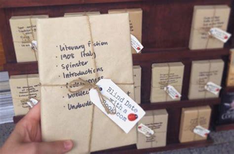 catene librerie blind date with a book l idea di una catena di librerie
