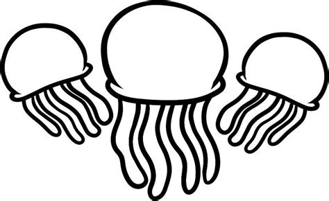 coloring pictures of jelly fish jellyfish coloring pages for coloring home