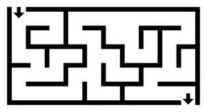 Maze Template by File Simple Maze Svg