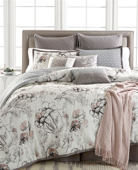 Kelly Ripa Home Pressed Floral 10 Piece Comforter Sets Macys Bed Set