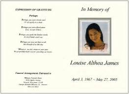 Memorial Service Program Templates by Memorial Programs Sles Templates Bi Fold Tri Fold