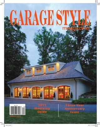Garage Style Magazine by Garage Style Magazine Summer 2011 By Garage Style Magazine