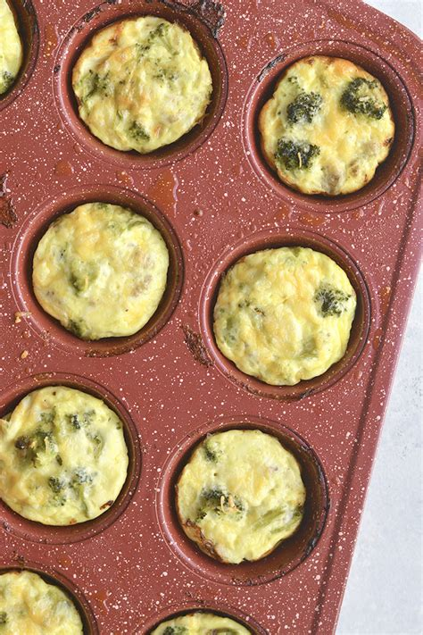 carbohydrates 1 egg cheesy sausage broccoli egg muffins gf low carb
