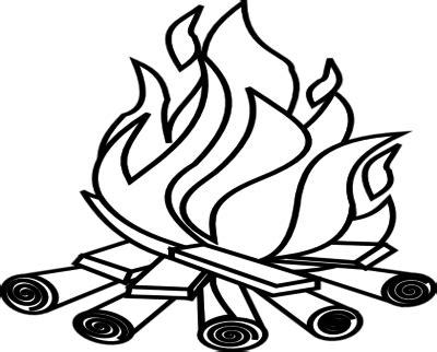 inspiratif gambar api unggun animasi hitam putih