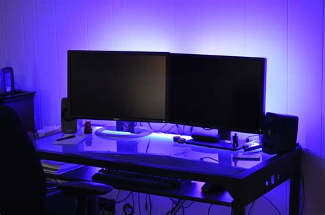 led lights on a led desk lights exile