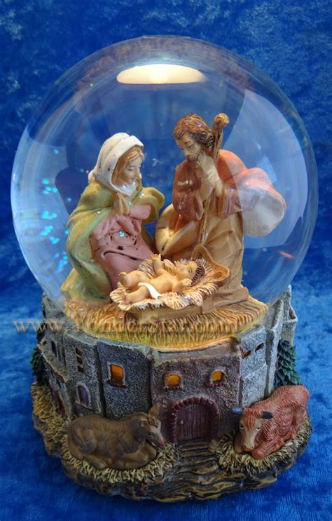fontanini canada musical fontanini nativity glitterdome lighted 59081