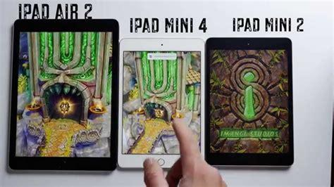 Air 2 64gb Bekas apple mini 4 vs air 2 vs mini 2 test de velocidad