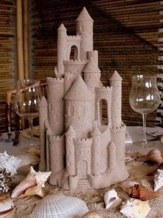 sand castle centerpiece wedding theme sand castle centerpiece 2058633 weddbook