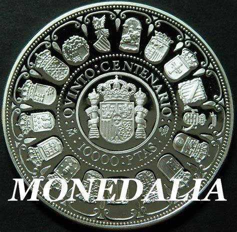 2266159232 dom juan a euros 1989 espa 209 a 10 000 pesetas plata cincuentin v