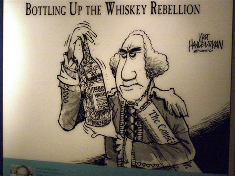 George Washington Political Cartoon | room 51 u s history the whiskey rebellion