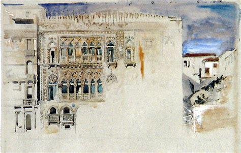 John Ruskin The Casa D Oro Venice 1845 Pencil And