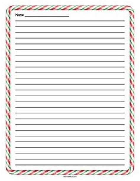 lined paper with holiday border green christmas paper and green on pinterest