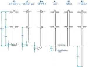 australian standard for handrails handrail stanchion components