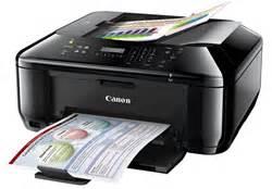 Printer Canon Mx377 canon pixma mx377 ink saver all in one with fax color