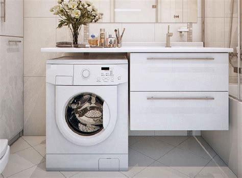 fantastic ideas  place  washing machine   small