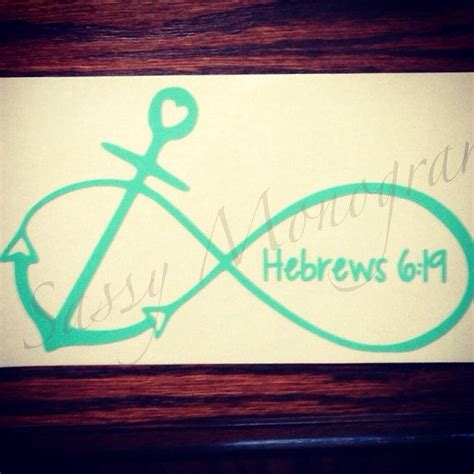 Love Anchors The Soul Hebrews - love anchors the soul hebrews 6 19 infinity anchor