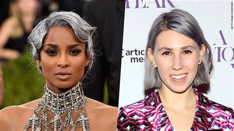 cnn reporter side gray hair dyed the science behind that gray hair dye fad may 17 2016