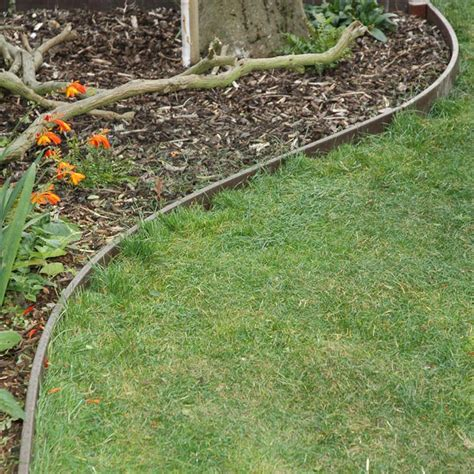 Landscape Edging Path Recycled Plastic Wood Lawn Edging Path Edging Filcris Ltd