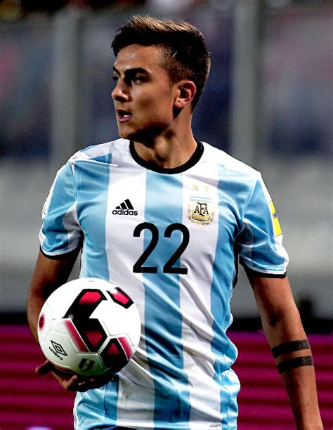 messi tattoo russin paulo dybala in a russia 2018 world cup qualifying match
