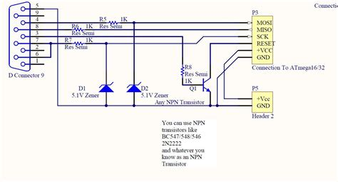 serial port pic programmer circuit diagram db9 wiring diagram efcaviation