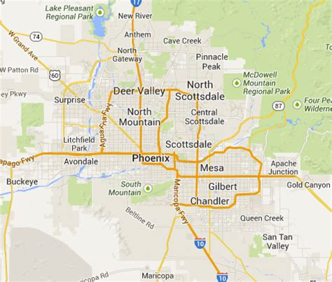 us map scottsdale arizona search scottsdale homes and real estate