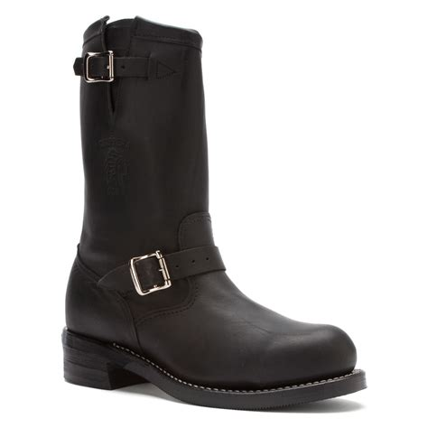 engineer boots chippewa 27863 11 inch engineer boot in black for lyst