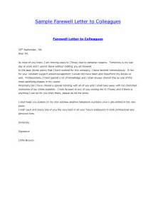 goodbye email template goodbye email to coworkers best business template