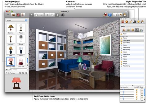 Home Design And Decor Software 3d Gun Image 3d Interior Design Software
