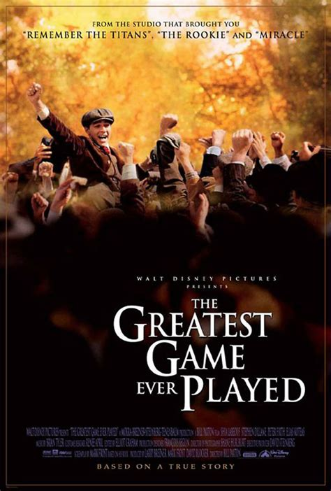 best biography documentary ever the greatest game ever played dvd release date april 11 2006