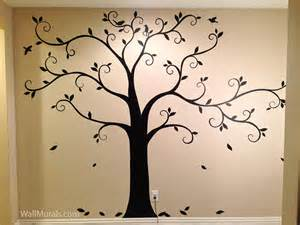 Wall Murals Tree Tree Wall Murals By Colette Tree Paintings On Walls