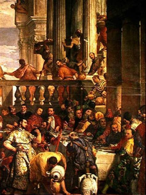Wedding At Cana Moral by Paolo Veronese Les Noces De Cana Descriptive Essay