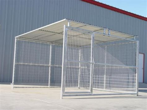 10x10 kennel kennels kennel add on with roof shelter 10 x10 rhino kennels