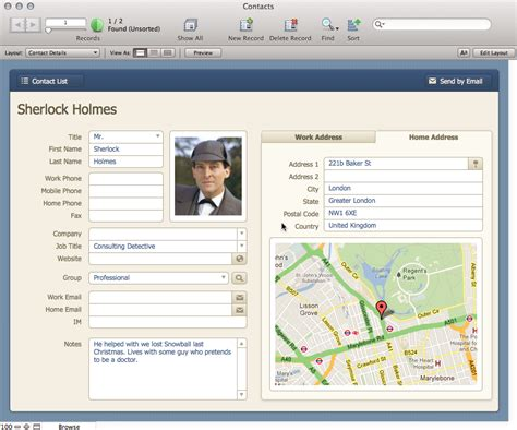 Personal Database Roundup Bento Is Dead Long Live Bento Macworld Free Filemaker Templates Mac